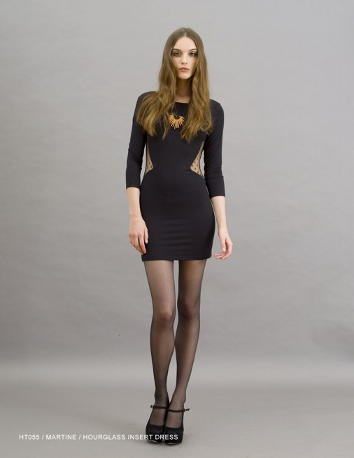 Holy Tee Holiday 2011 Collection - HT055 / Martine / Hourglass Insert Dress