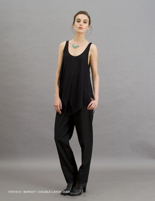 Holy Tee Holiday 2011 Collection - HT016-H / Bardot / Double Layer Tank (Editorial)